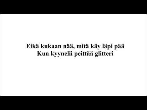 Ellinoora - Glitteri, Instrumental guitar cover/Karaoke