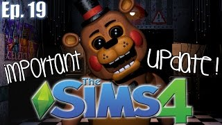 Important Series Update (Vote Now!!) - The Sims 4: FNAF Theme - Ep. 19