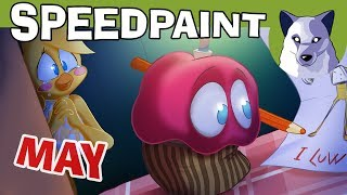 May FNAF Speedpaint! - Watch Me Draw! [Tony Crynight]