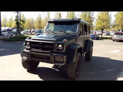 2018 mercedes g class g klasse first prototype ride for Mercedes benz portal axles