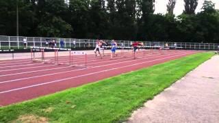 110 метров с барьерами Хоменко Кирилл 15,27 с..MOV