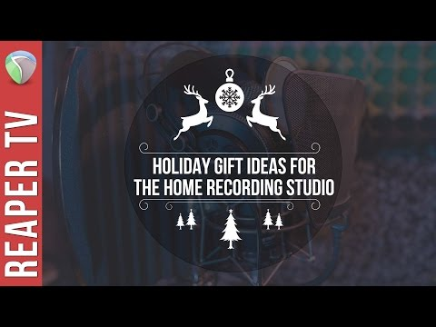 6 Gift Ideas for the Home Recording Studio Musician