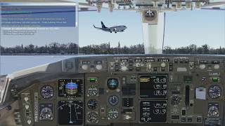 FSX - B767-300ER - PW4060 engine sounds - fd views