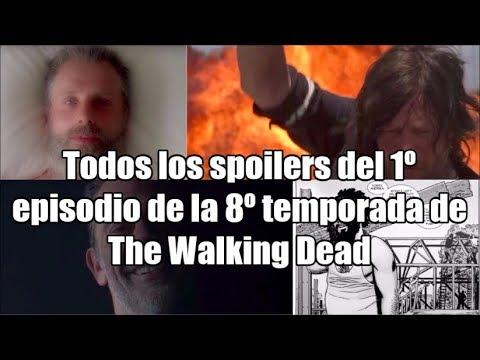 Todos los spoilers del 1º episodio de la 8º temporada de The Walking Dead