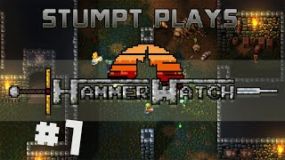 Stumpt Plays - Hammerwatch - #1 - A Battle With Bugs (4 Player Gameplay)