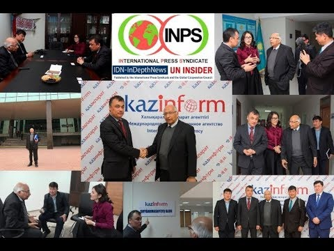 Visiting Kazinform In Astana, The Largest News Agency In Central Asia
