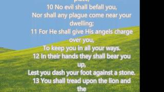 Psalm 91 with lyrics