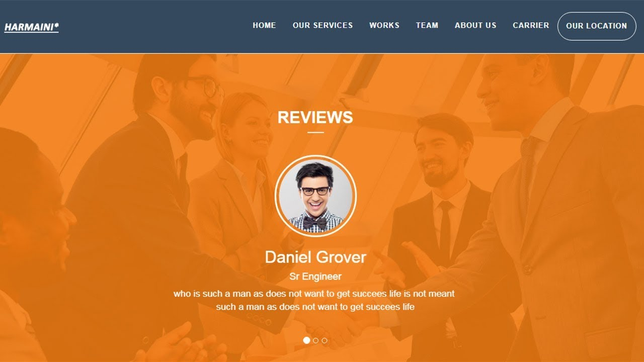 Best Testimonial Section For Website Html 5 And Css 3 Web Design Tips
