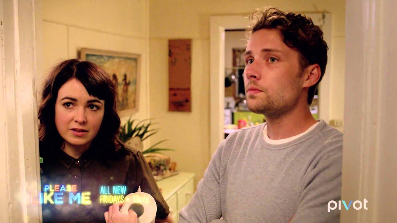 Worms Love Babies ('Please Like Me': Season 3, Episode 8 Clip)