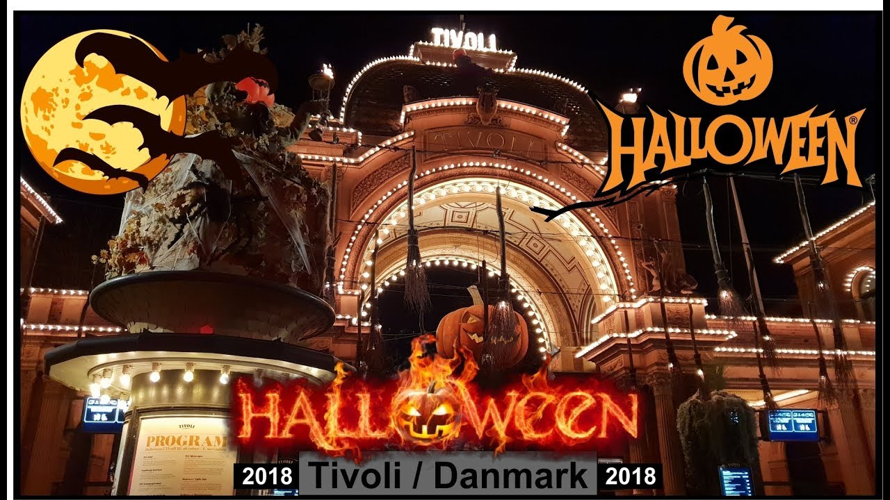 Halloween In Tivoli Copenhagen Denmark Vlog Youtube