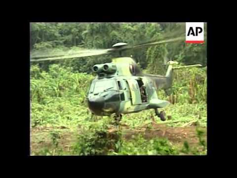 ECUADOR: FIGHTING CONTINUES IN BORDER DISPUTE