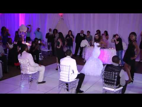 Beyonce Surprise Wedding dance with Bridesmaids !!!!!!!