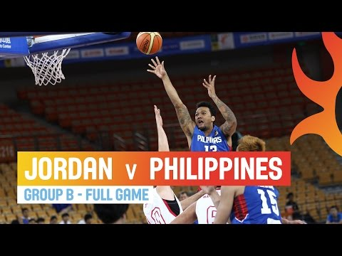 Jordan v Philippines - Full Game Group B - 2014 FIBA Asia Cup