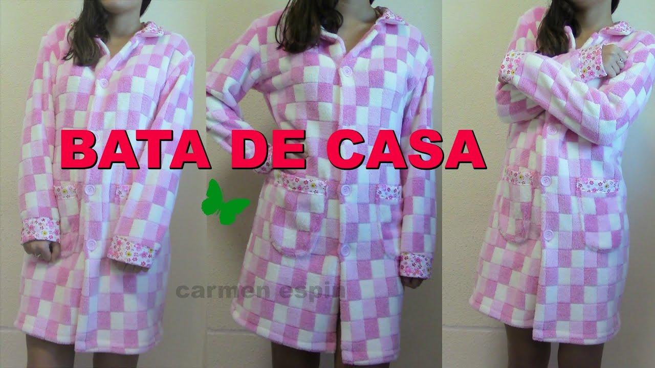 BATA DE CASA:DIY - YouTube
