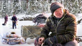 За щукой с хантами Крокодилы Мат Югана Рыбалка на Крайнем Севере 2021 С полем