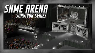 wwe 2k16 universe mode snme arena survivor series 2015