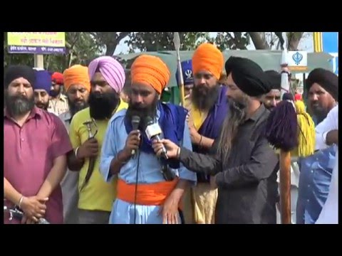 280316 Sikh Channel Special Reports: Nawanshahr Sikh Protest
