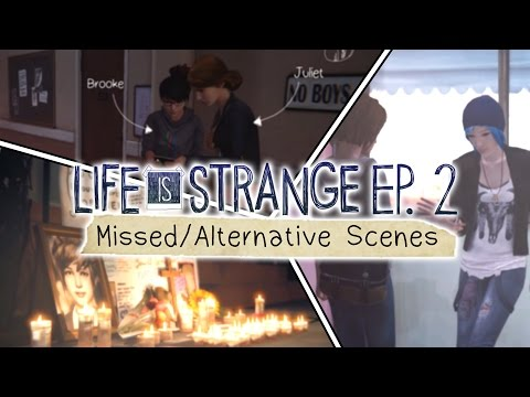Life is Strange [Episode 2: Out of Time] - Missed/Alternative Scenes
