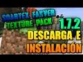 Como Descargar e Instalar el Soartex Fanver Texture Pack para Minecraft 1.7.2!!