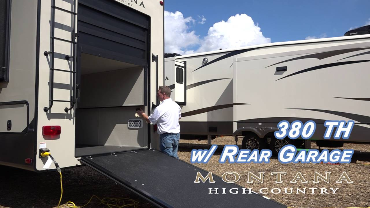 High Country With Rear Garage
