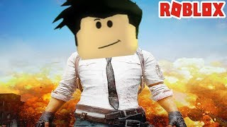 PUBG BATTLE ROYALE IN ROBLOX!