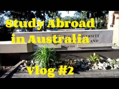Study Abroad In Australia - Vlog #2: Exploring the campus