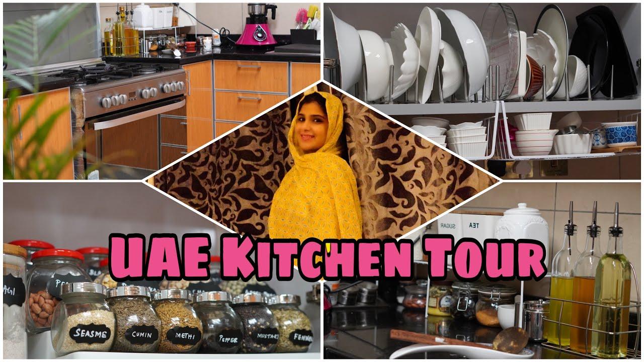 My Kitchen Tour in Tamil   Taste of Chennai   Kitchen Tour Organisation    Modular Kitchen Tour
