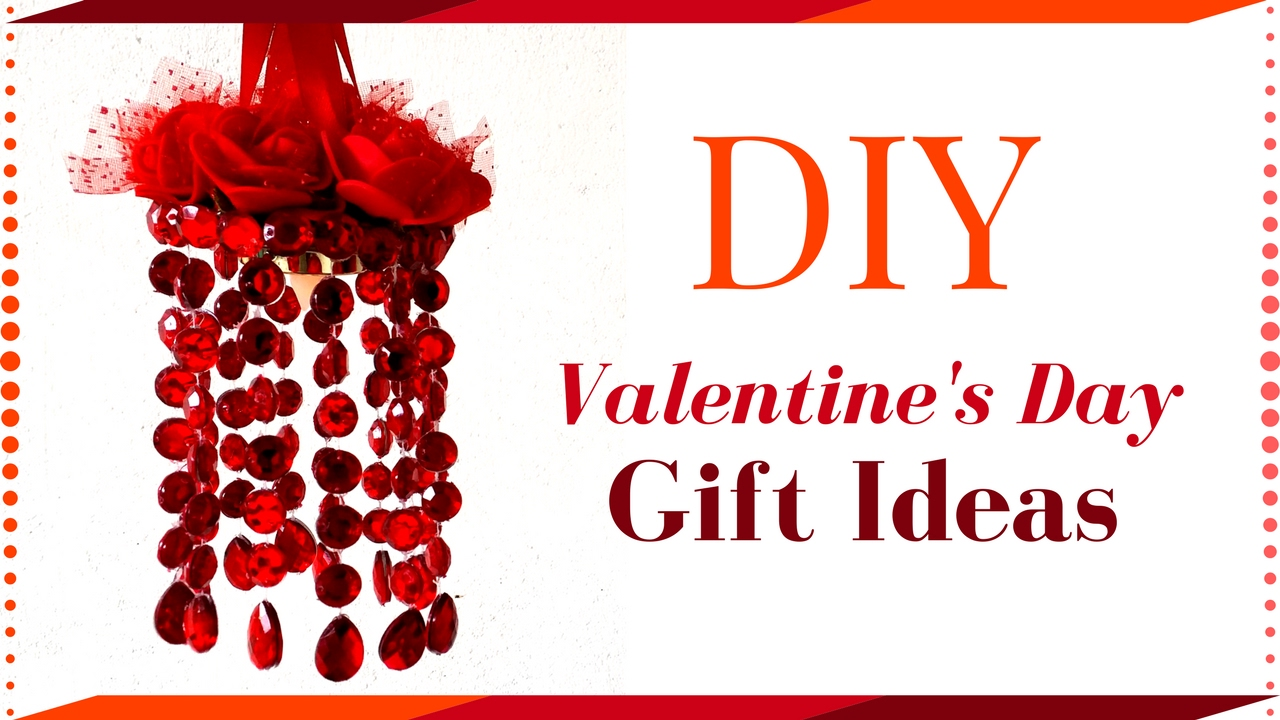 Valentine\'s Day Gift Ideas - Home Made DIY Gift for Her / Him ...