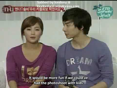 solbi and andy dating real