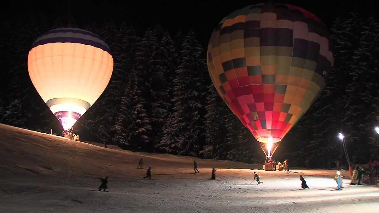 Nacht der Ballone 2012 in Zell am See-Kaprun