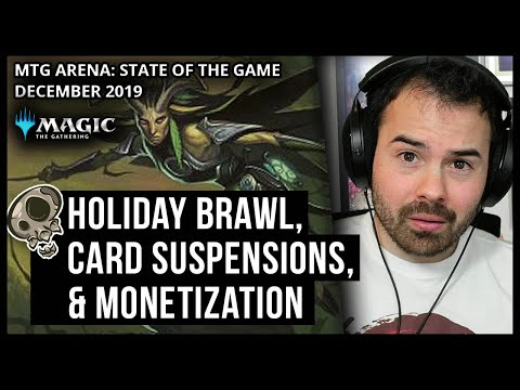 Happy Brawlidays..? State of the Game, December 2019 | Magic the Gathering Arena