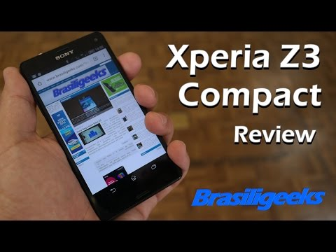 Sony Xperia Z3 Compact - Análise e Testes