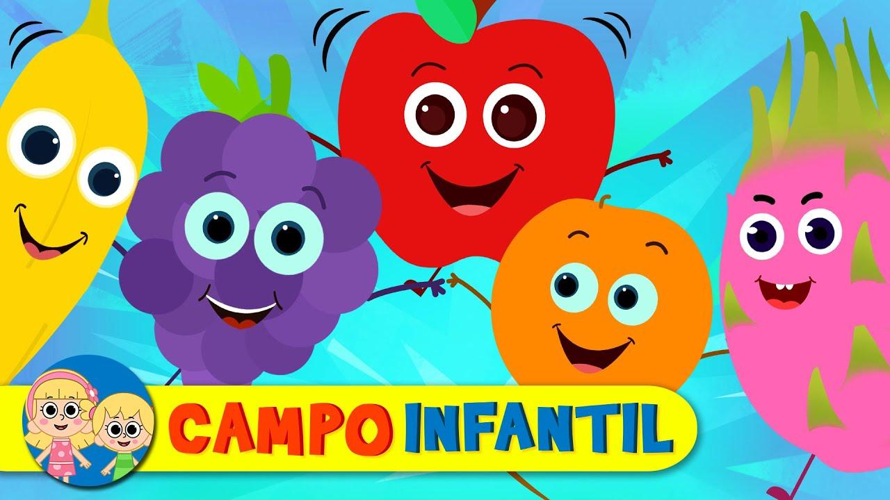 El desfile de las frutitas - Canta, juega y aprende con Elly | Campo Infantil