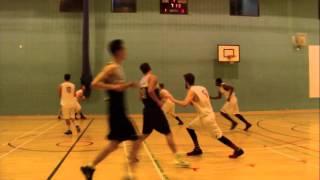 LEEDS BECKETT BASKETBALL BUCS 2 V YORK ST JOHNS BASKETBALL  16 03 16 PART 5