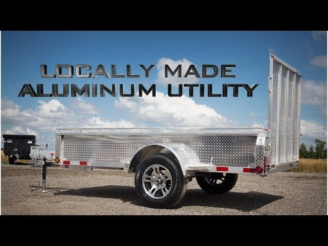 Mennonite Built Aluminum Utility - ACTION TRAILER SALES