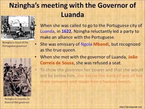 Queen Nzingha: Great Queen of Angola