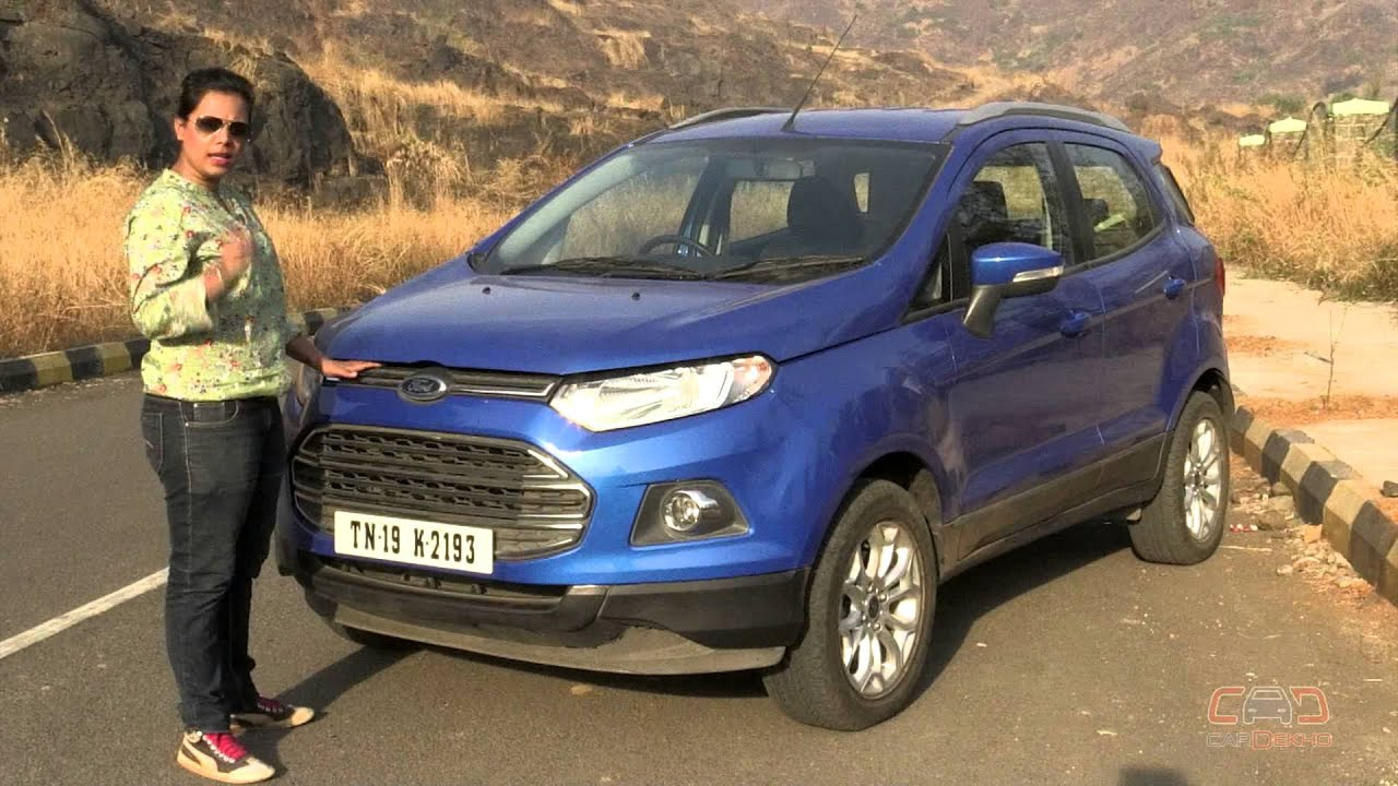 Ford Ecosport Know Your Car How To Open The Bonnet Youtube