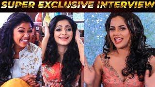BIGG BOSS Gossips by the FINALISTS | Aishwarya, Janani, Riythvika