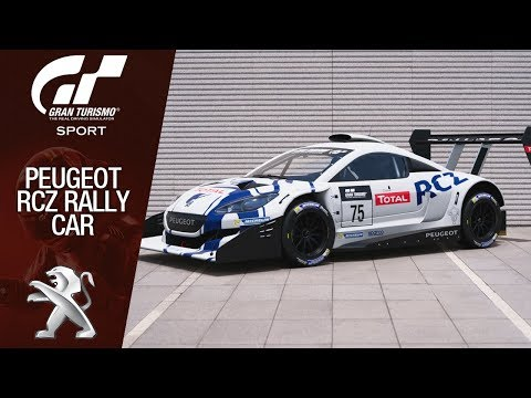 Gran Turismo Sport - Peugeot RCZ Rally Car - Colorado Springs (Lake II)