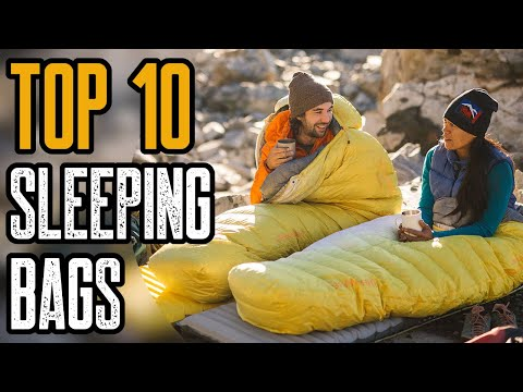 Top 10 Best Sleeping Bags for Camping Backpackingиз YouTube · Длительность: 11 мин4 с