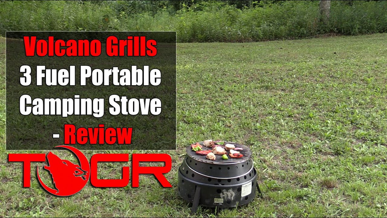 Volcano Grills 3 Fuel Portable Camping Stove Review