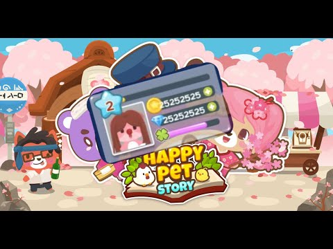 WOOWW!! Cara Cheat Uang Dan Berlian Happy Pet Story 100% Work TERBARU 2019 HOW TO CHEAT HAPPY PET