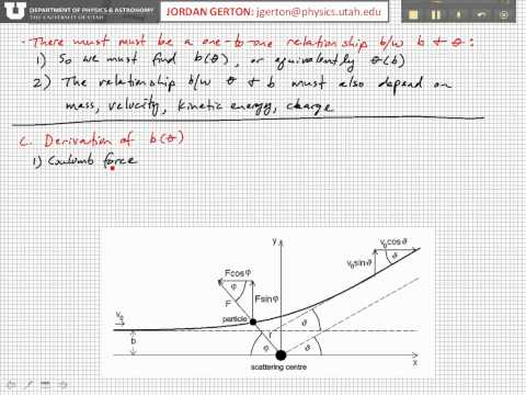 PHYS3740 Lecture21-3 Rutherford Cross-Section