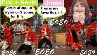 Jimin (15&) fangirling over UNIQ on ASC Moments