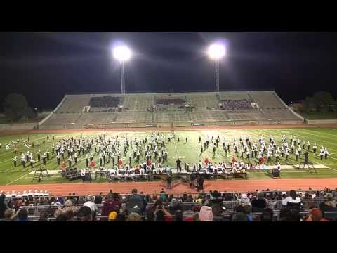 Odessa Permian Band @ UIL Marching Contest 2015