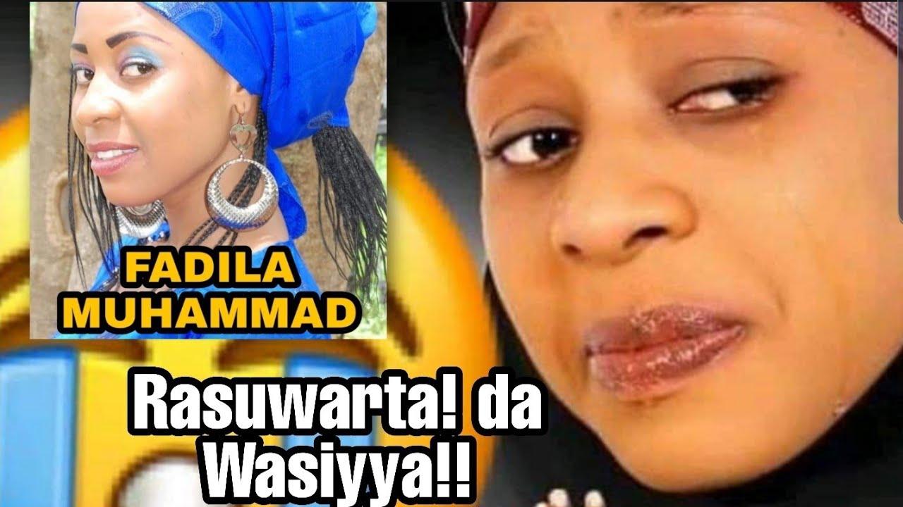 Download Jana'izar FADILA MUHAMMAD Jarumar kannywood😭 wasiyya da cikakken Tarihin Rayuwarta!