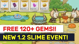 120+ FREE PRIMOGEMS! 1.2 Slime Paradise Web Event! Its Out NOW! | Genshin Impact
