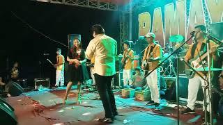 antara senyum dan perang - Lusyana Jelita & Bayu arizona - om ramayana live bangkalan