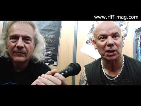 Uriah Heep interview at Hellfest 2012