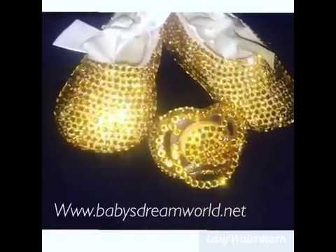 Swarovski Baby Ballet Shoes